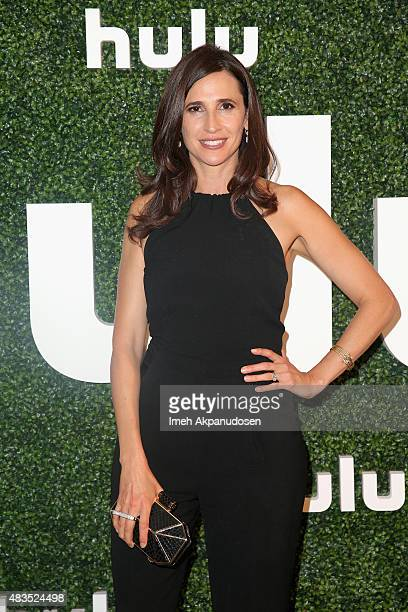 Actress Michaela Watkins attends the Hulu 2015 Summer TCA Presentation at The Beverly Hilton Hotel on August 9 2015 in Beverly Hills California