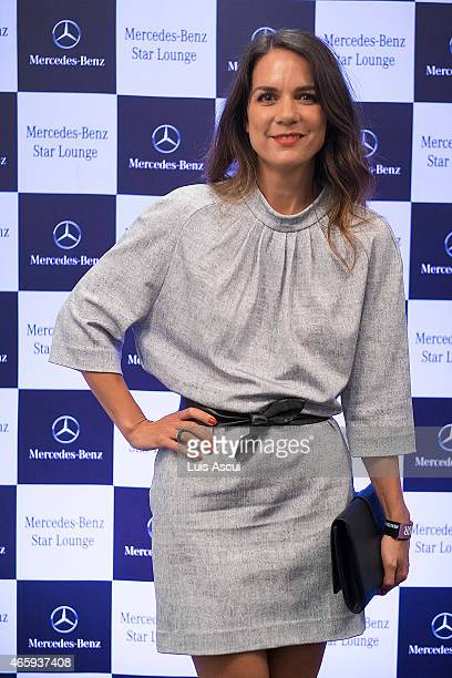 Actress Michala Banas at the MercedesBenz Ladies Day as part of the 2015 Australian Grand Prix on March 12 2015 in Melbourne Australia