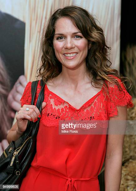 Actress Michala Banas attends the Australian premiere of 'Did You Hear About The Morgans' at Event Cinemas George Street on December 22 2009 in...