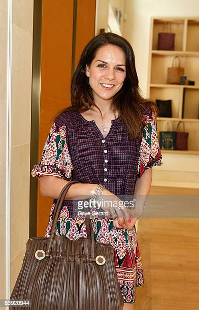 Actress Michala Banas attends the High Jewellery Collection Preview ahead of the AFI Awards at the new Bulgari flagship store at Collins Street on...