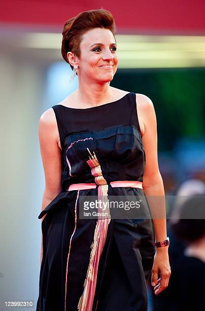 Actress Michela Cescon attends the Quando La Notte premiere during the 68th Venice Film Festival at Palazzo del Cinema on September 7 2011 in Venice...