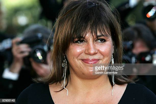 Actress Michele Bernier attends the screening of Peindre Ou Faire L'Amour at the Palais during the 58th International Cannes Film Festival May 18...
