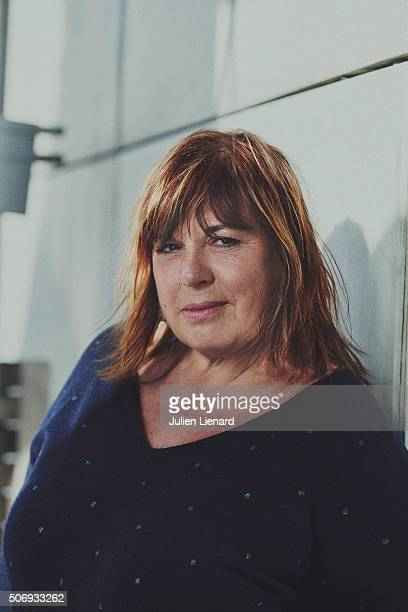 Actress Michele Bernier is photographed for Self Assignment on January 14 2016 in Paris France