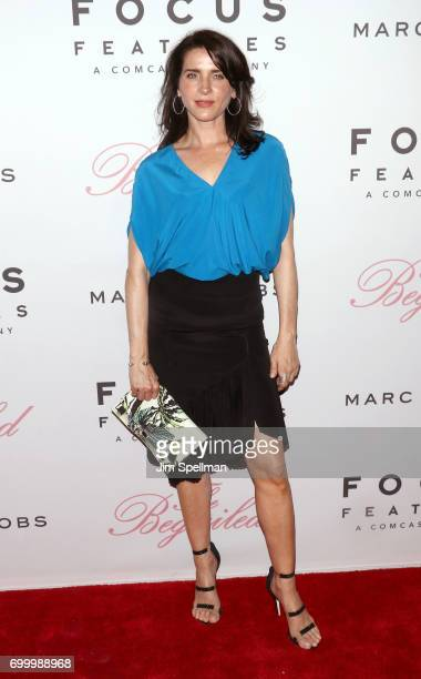 Actress Michele Hicks attends The Beguiled New York premiere at The Metrograph on June 22 2017 in New York City