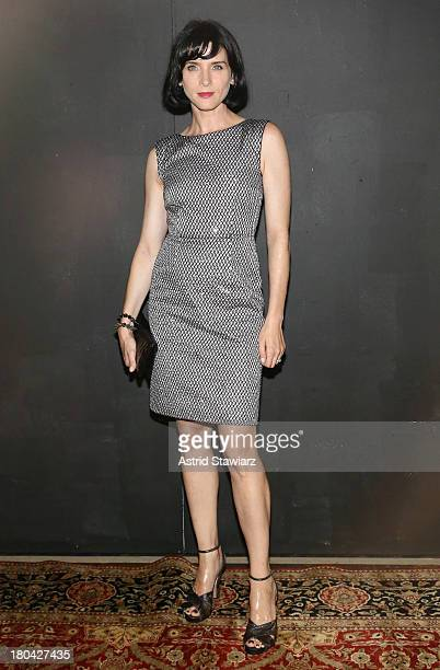 Actress Michele Hicks attends the Marc Jacobs fashion show during MercedesBenz Fashion Week Spring 2014 at the Lexington Avenue Armory on September...
