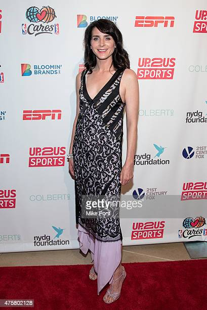 Actress Michele Hicks attends the Up2Us Sports Gala at IAC Building on June 3, 2015 in New York City.