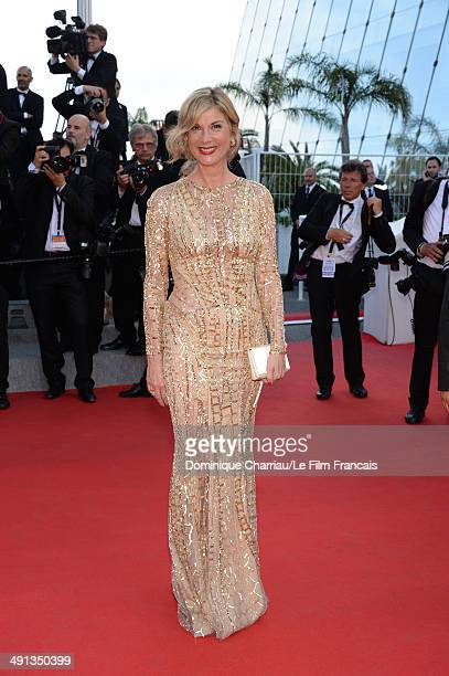 Actress Michele Laroque attends the 'How To Train Your Dragon 2' Premiere at the 67th Annual Cannes Film Festival on May 16 2014 in Cannes France