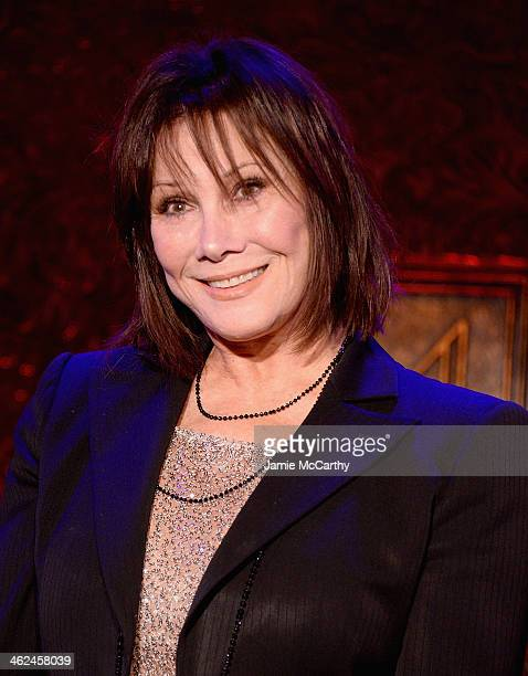 Actress Michele Lee attends the 54 Below press preview at 54 Below on January 13 2014 in New York City