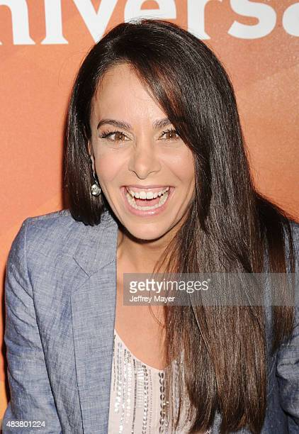Actress Michele Lepe attends the NBCUniversal press tour 2015 at the Beverly Hilton Hotel on August 12, 2015 in Beverly Hills, California.