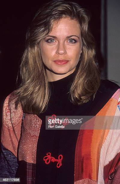 Actress Michele Scarabelli attends the Avalon Century City Premiere on October 3 1990 at the Cineplex Odeon Century Plaza Cinemas in Century City...