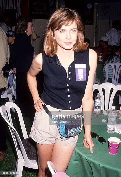 Actress Michele Scarabelli attends the Permanent Charities Committee of the Entertainment Industries' Fifth Annual Earth Day WalkAThon to Benefit...