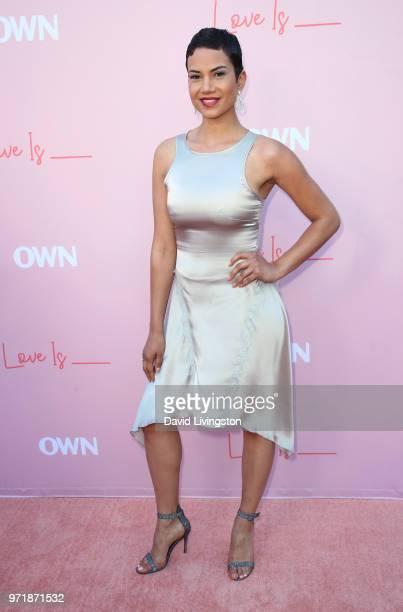 Actress Michele Weaver attends the premiere of OWN's Love Is_ at NeueHouse Hollywood on June 11 2018 in Los Angeles California
