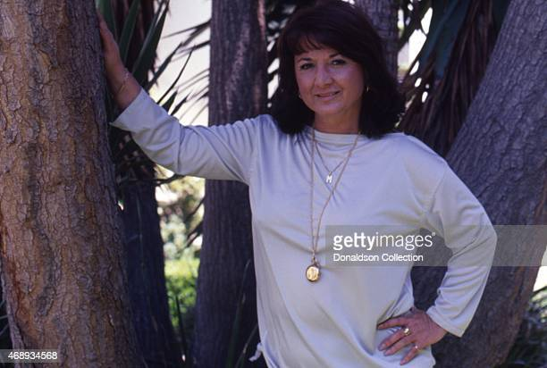 Actress Michell Triola Marvin poses for a portrait on 1979 in Los Angeles California