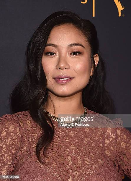 Actress Michelle Ang attends the Television Academy And SAGAFTRA's 4th Annual Dynamic and Diverse Celebration at The Saban Media Center on August 25...