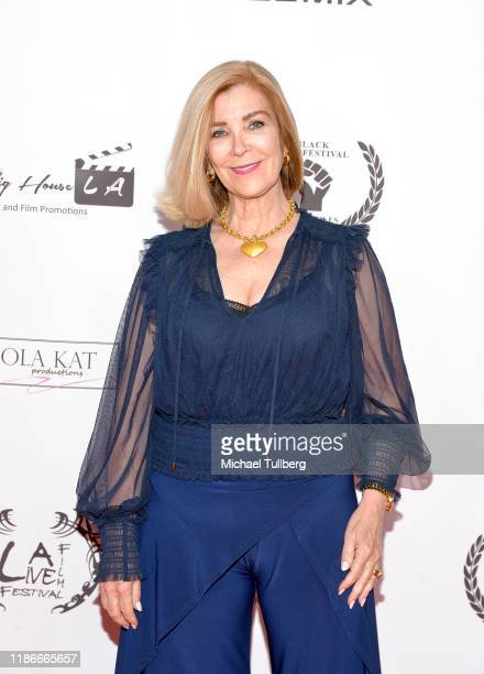 Actress Michelle Beaulieu attends the Kash Hovey and Friends Film Block at Film Fest LA at Regal Cinemas LA LIVE Stadium 14 on November 09 2019 in...