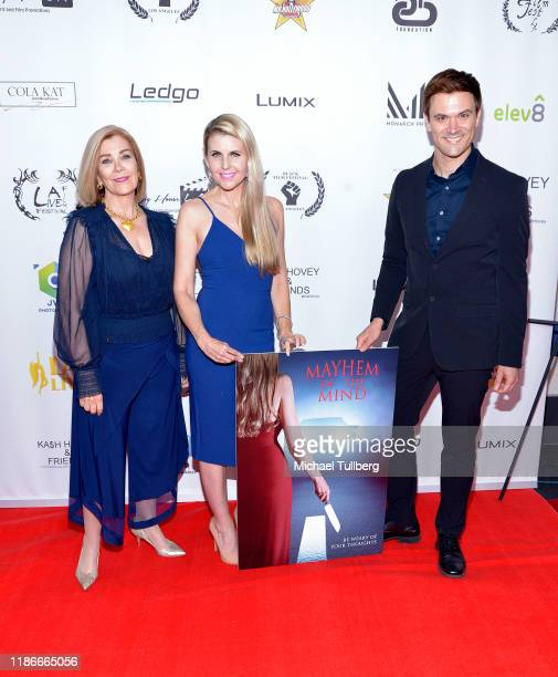 Actress Michelle Beaulieu director Kathy Kolla and producer Kash Hovey attend the Kash Hovey and Friends Film Block at Film Fest LA at Regal Cinemas...