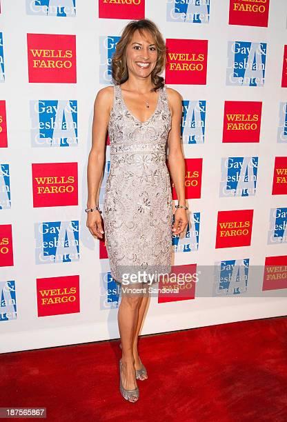 Actress Michelle Bonilla attends the LA Gay Lesbian Center's 42nd anniversary Vanguard Awards Gala Arrivals at Westin Bonaventure Hotel on November 9...