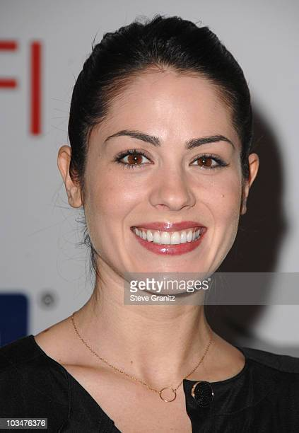 Actress Michelle Borth arrives at the 2008 AFI Luncheon held at the Four Seasons Hotel on January 11, 2008 in Los Angeles, California.