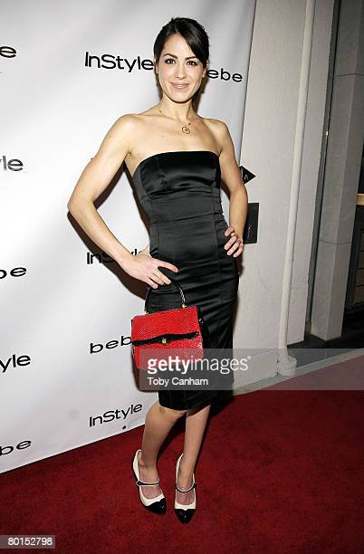 Actress Michelle Borth attends the Bebe Spring Ad Campaign Announcement at the Bebe store on March 6, 2008 in Beverly Hills, California.