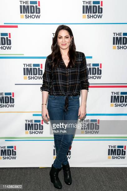 Actress Michelle Borth visits 'The IMDb Show' LIVE on Twitch on April 17, 2019 in Studio City, California. This episode of 'The IMDb Show' aired on...