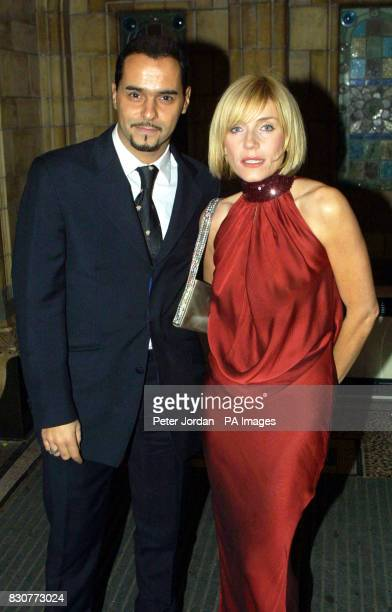 Actress Michelle Collins and actor Michael Greco at the Save The Children Festival of Trees at the Natural History Museum in London The Princess...