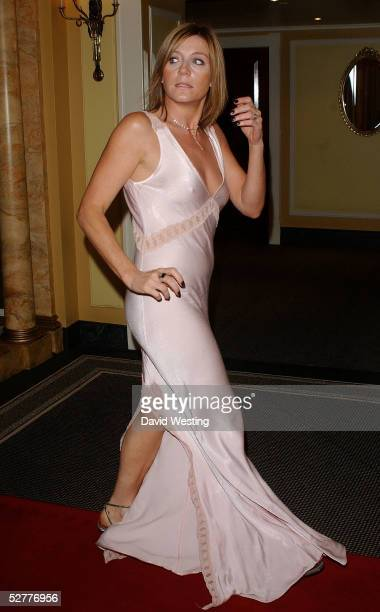 Actress Michelle Collins arrives at the British Academy Television Craft Awards at The Dorchester on May 8 2005 in London The awards honor the...