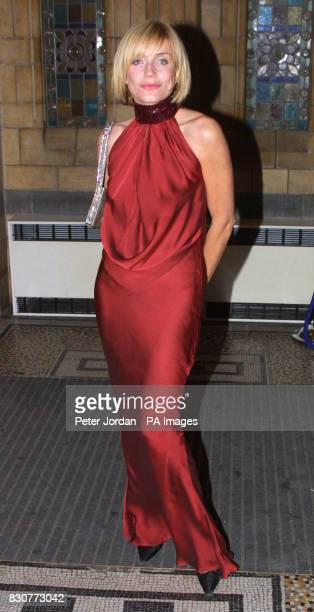 Actress Michelle Collins at the Save The Children Festival of Trees at the Natural History Museum in London The Princess Royal was guest of honour at...