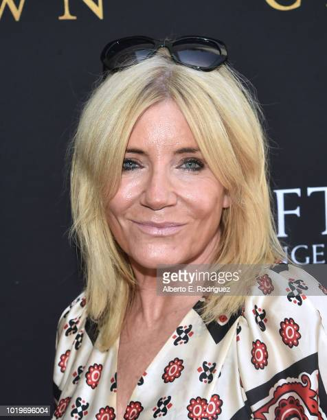 Actress Michelle Collins attends the BAFTALA Summer Garden Party at The British Residence on August 19 2018 in Los Angeles California