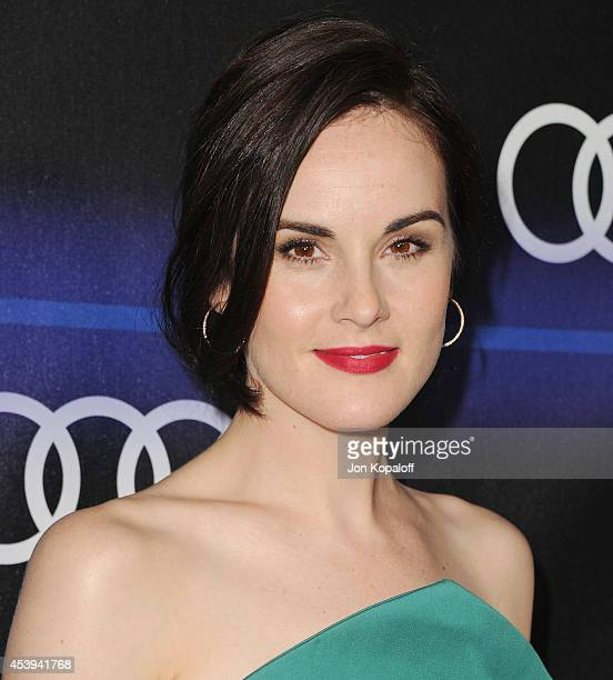 Actress Michelle Dockery arrives at Audi Emmy Week Celebration at Cecconi's Restaurant on August 21 2014 in Los Angeles California