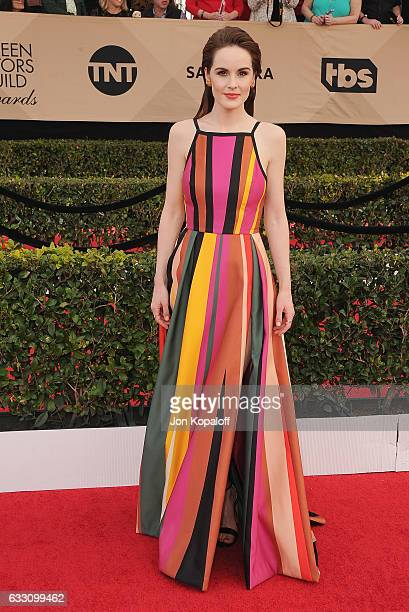 Actress Michelle Dockery arrives at the 23rd Annual Screen Actors Guild Awards at The Shrine Expo Hall on January 29 2017 in Los Angeles California