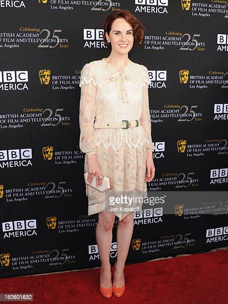 Actress Michelle Dockery arrives at the BAFTA Los Angeles TV Tea 2012 Presented By BBC America at The London Hotel on September 22, 2012 in West...