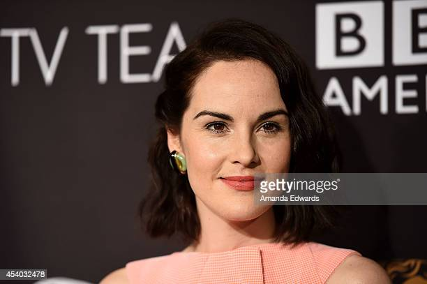 Actress Michelle Dockery arrives at the BAFTA Los Angeles TV Tea presented y BBC and Jaguar at SLS Hotel on August 23, 2014 in Beverly Hills,...
