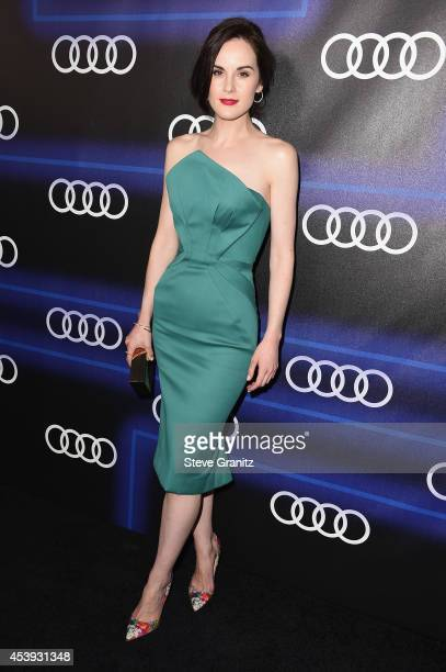 Actress Michelle Dockery attends Audi Emmy Week Celebration at Cecconi's Restaurant on August 21 2014 in Los Angeles California