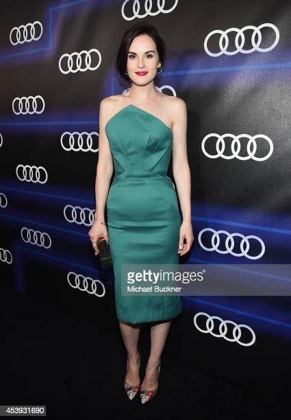 Actress Michelle Dockery attends Audi's Celebration of Emmys Week 2014 at Cecconi's Restaurant on August 21 2014 in Los Angeles California