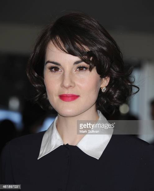 Actress Michelle Dockery attends DuJour Magazine's celebration of The Great Performances issue featuring Twelve Years A Slave breakout star and...