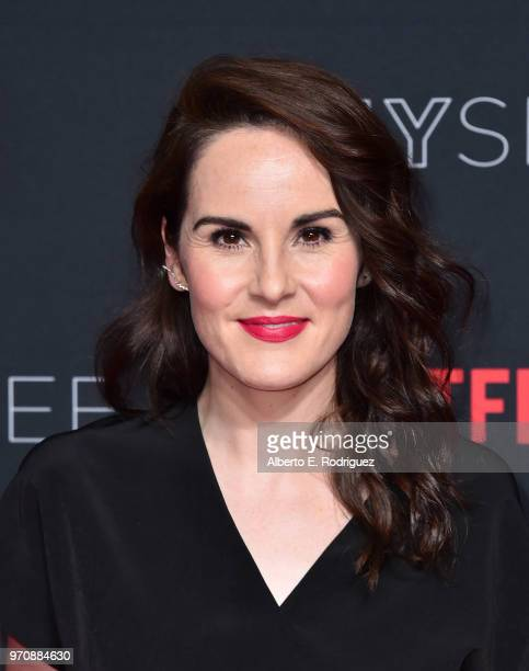 Actress Michelle Dockery attends #NETFLIXFYSEE For Your Consideration Event For 'Godless' at Netflix FYSEE At Raleigh Studios on June 9 2018 in Los...