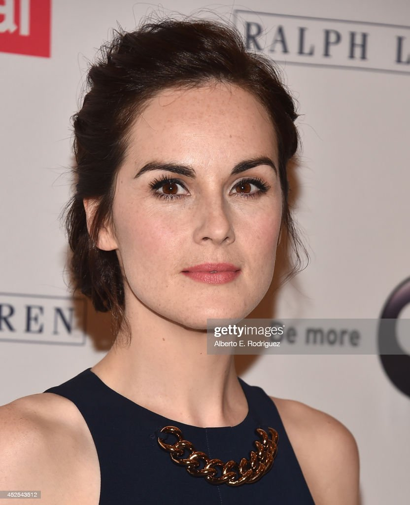 Actress Michelle Dockery attends the 2014 Summer TCA Tour 'Downton Abbey' Season 5 photocall at The Beverly Hilton Hotel on July 22, 2014 in Beverly Hills, California.