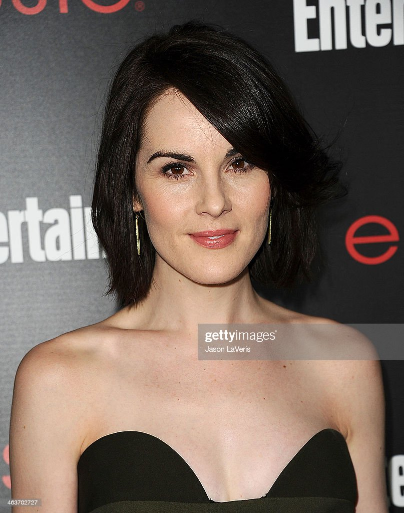 Actress Michelle Dockery attends the Entertainment Weekly SAG Awards pre-party at Chateau Marmont on January 17, 2014 in Los Angeles, California.