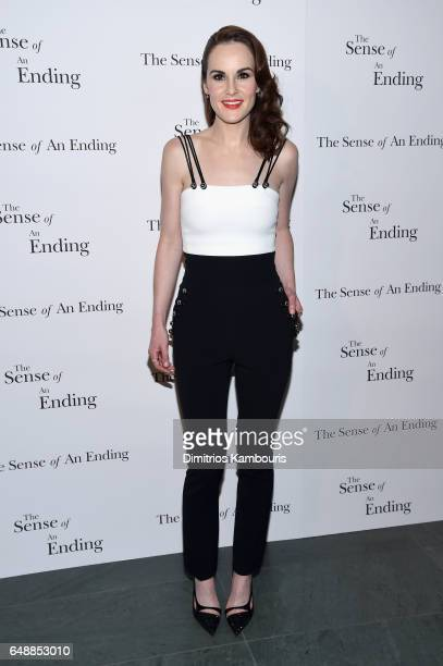 Actress Michelle Dockery attends 'The Sense Of An Ending' New York Screening at The Museum of Modern Art on March 6 2017 in New York City