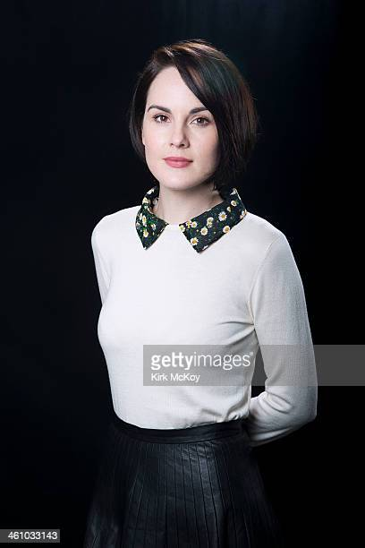 Actress Michelle Dockery is photographed for Los Angeles Times on August 6 2013 in Beverly Hills California PUBLISHED IMAGE CREDIT MUST BE Kirk...