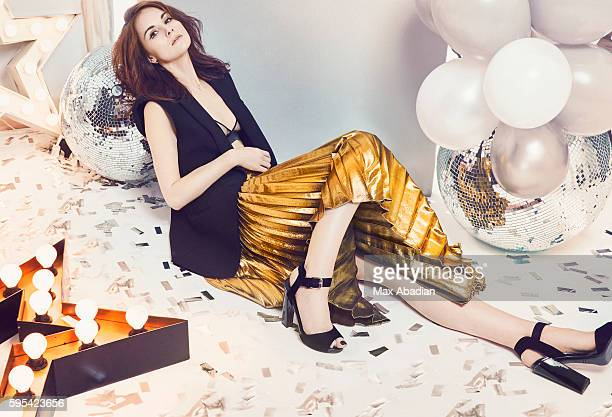 Actress Michelle Dockery is photographed for Red magazine on September 14 2015 in London England Published Image