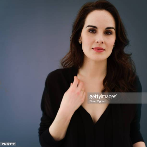 Actress Michelle Dockery is photographed for Self Assignment on April 2018 in Cannes France