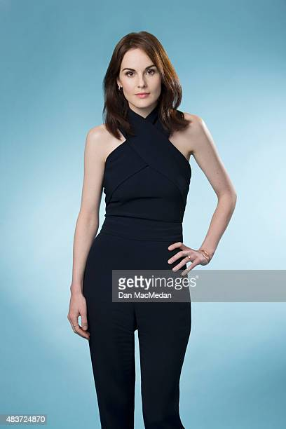 Actress Michelle Dockery is photographed for USA Today on August 1 2015 in Beverly Hills California
