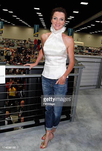 Actress Michelle Fairley attends HBO's Game Of Thrones cast autograph signing at San Diego Convention Center on July 19 2013 in San Diego California