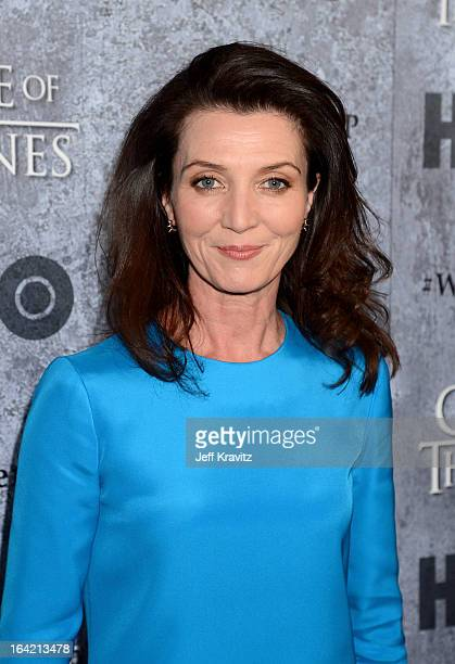 Actress Michelle Fairley attends HBO's Game Of Thrones Season 3 San Francisco Premiere on March 20 2013 in San Francisco California