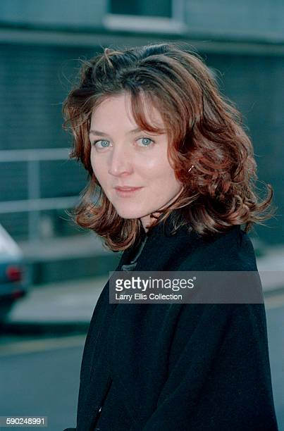 Actress Michelle Fairley star of the television series 'A Mug's Game' poses for a photocall UK 17th January 1996