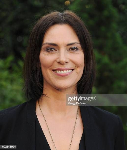 Actress Michelle Forbes arrives at Mercy For Animals Hidden Heroes Gala 2016 at Vibiana on September 10, 2016 in Los Angeles, California.