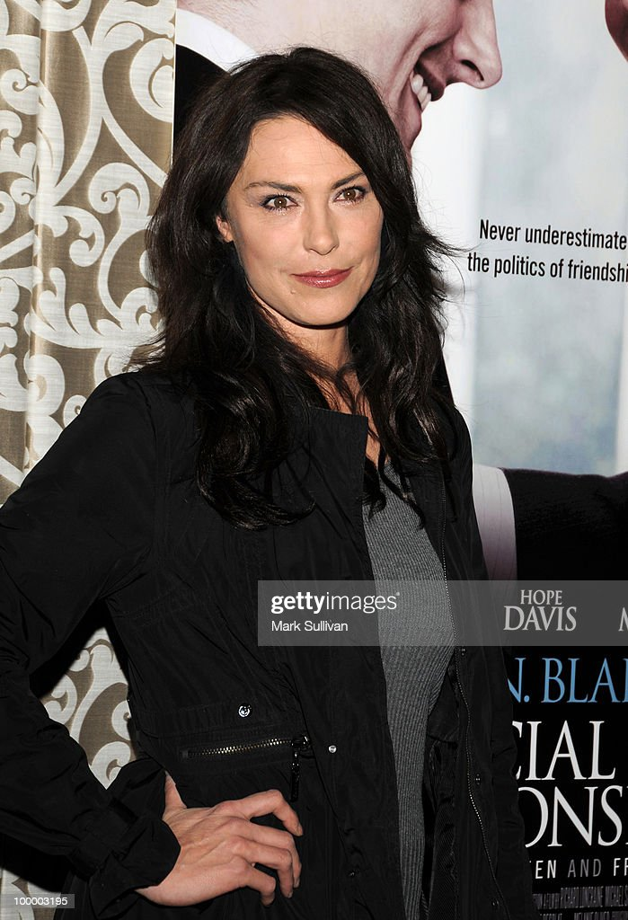 Actress Michelle Forbes attends HBO Film's 'The Special Relationship' Los Angeles Premiere at Directors Guild Theatre on May 19, 2010 in West Hollywood, California.