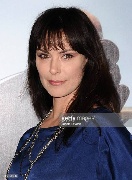 Actress Michelle Forbes attends the 7th season premiere of HBO's Curb Your Enthusiasm at Paramount Theater on the Paramount Studios lot on September...