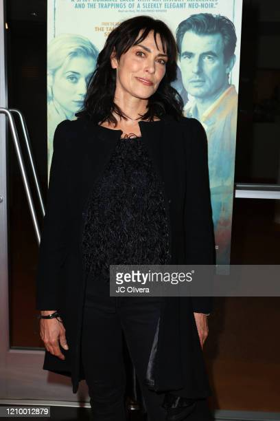 """Actress Michelle Forbes attends the LA special screening of Sony's """"The Burnt Orange Heresy"""" at Linwood Dunn Theater on March 02, 2020 in Los..."""